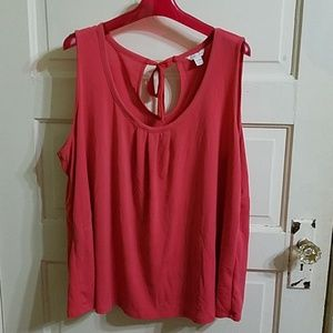 Adorable Cato Tank Top with tie in back